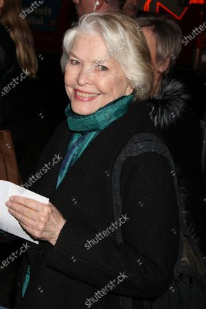 """Stock Photo of Ellen Burstyn attends the opening night performance of """"The Color Purple"""" at the Bernard B. Jacobs Theatre in New York City on December 10, 2015.  Photo Credit: Henry McGee/MediaPunch"""