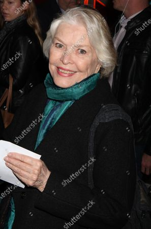 """Ellen Burstyn attends the opening night performance of """"The Color Purple"""" at the Bernard B. Jacobs Theatre in New York City on December 10, 2015.  Photo Credit: Henry McGee/MediaPunch"""