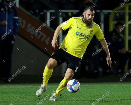 Michael Bostwick of Burton Albion brings the ball under control