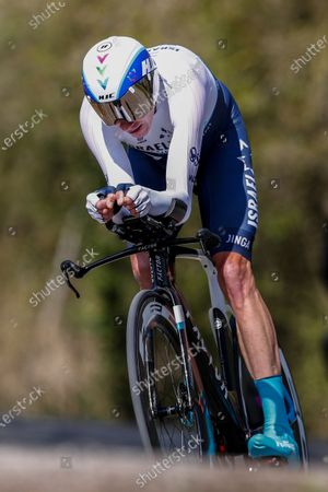181 Chris Froome from Great Britain of Israel Start Up Nation action, during the 100th Volta Ciclista a Catalunya 2021, Stage 2 Individual Time Trial from Banyoles to Banyoles. On March 23, 2021 in Banyoles, Spain.