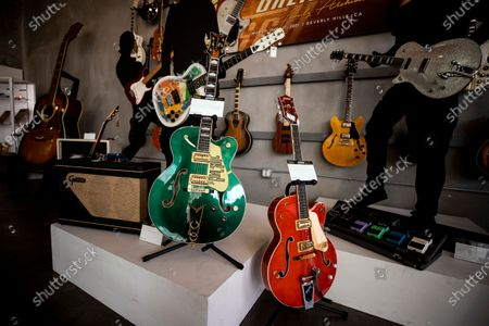 Editorial image of Gretsch Music Company Auction of Historic Archive of Instruments offered at Auction in Beverly Hills, USA - 23 Mar 2021