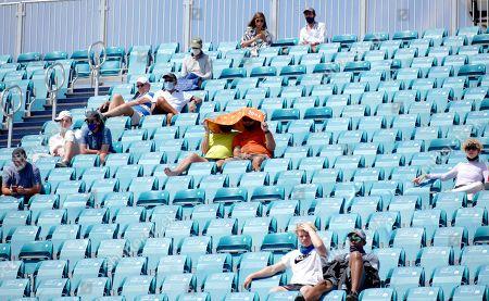 Editorial picture of Miami Open tennis tournament, Hard Rock Stadium, Miami Gardens, Florida, USA - 23 Mar 2021