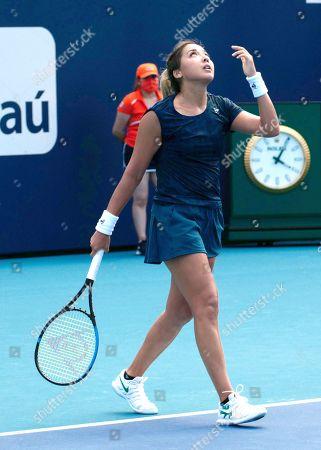 Editorial image of Miami Open tennis tournament, Hard Rock Stadium, Miami Gardens, Florida, USA - 23 Mar 2021