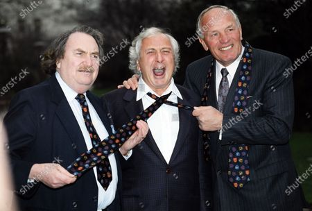 Sir John Harvey Jones, Michael Winner and Sir Henry Cooper 1991