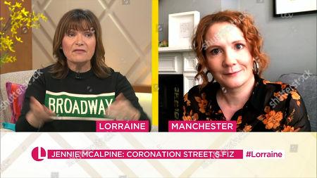 Lorraine Kelly and Jennie McAlpine