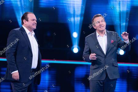 Shaun Williamson and Bradley Walsh.