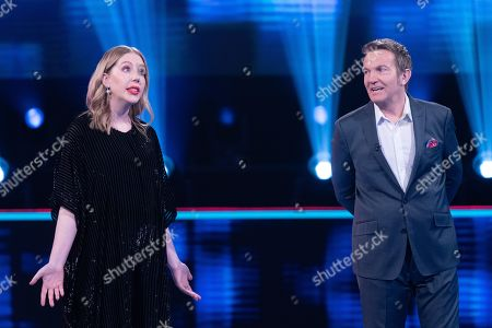 Katherine Ryan and Bradley Walsh.