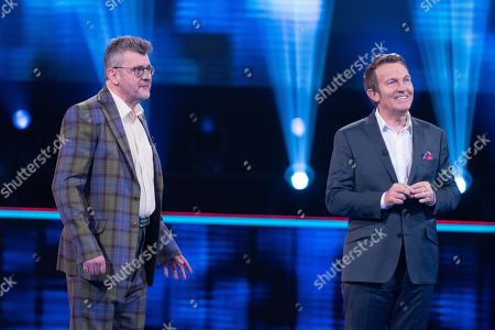 Editorial photo of 'Beat The Chasers: Celebrity Special' TV Show, Series 3, Episode 1, UK - 27 Mar 2021