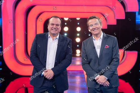 Stock Picture of Shaun Williamson and Bradley Walsh.