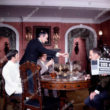 George Foster, as played by Dudley Foster, Marty Hopkirk, as played by Kenneth Cope, Jeff Randall, as played by Mike Pratt, and Henry Foster, as played by Alfred Burke