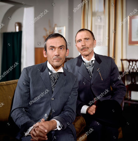 Stock Image of George Foster, as played by Dudley Foster, and Henry Foster, as played by Alfred Burke