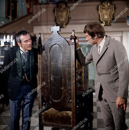 George Foster, as played by Dudley Foster, and Jeff Randall, as played by Mike Pratt,
