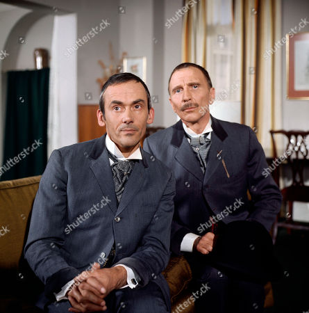 George Foster, as played by Dudley Foster, and Henry Foster, as played by Alfred Burke