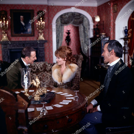 Henry Foster, as played by Alfred Burke, Laura Watson, as played by Adrienne Corri, and George Foster, as played by Dudley Foster