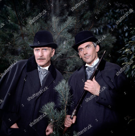 Henry Foster, as played by Alfred Burke, and George Foster, as played by Dudley Foster