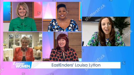 Kaye Adams, Brenda Edwards, Gloria Hunniford, Janet Street-Porter and Louisa Lytton