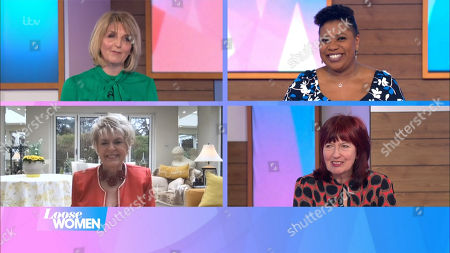 Kaye Adams, Brenda Edwards, Gloria Hunniford and Janet Street-Porter