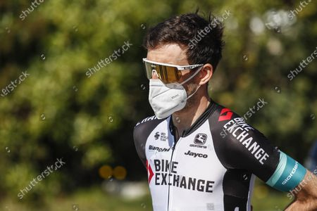 111 Simon Yates from France of Team Bike Exchange portrait, during the 100th Volta Ciclista a Catalunya 2021, Stage 3 from Canal Olimpic de Barcelona to Valter 2000. On March 24, 2021 in Barcelona, Spain.