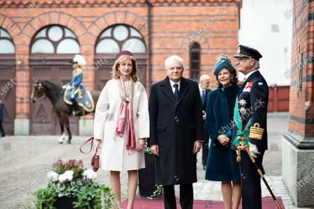 Editorial photo of President of Italy Sergio Mattarella three-day state visit, Stockholm, Sweden - 13 Nov 2018