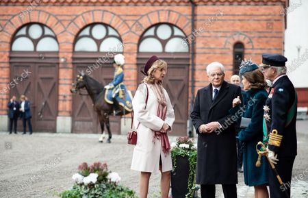 Editorial picture of President of Italy Sergio Mattarella three-day state visit, Stockholm, Sweden - 13 Nov 2018