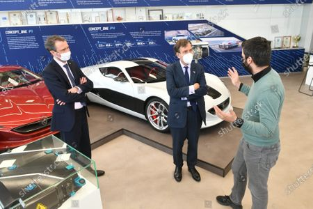 Editorial picture of British Minister of State Greg Hands visited Rimac Automobili company, Zagreb, Croatia - 23 Mar 2021