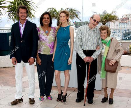 Ricardo Trepa, Ana Maria Magalhaes, Pilar Lopez and Manoel De Oliveira