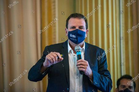 Editorial picture of Rio Mayor Eduardo Paes, Rio de Janeiro, Brazil - 24 Mar 2021