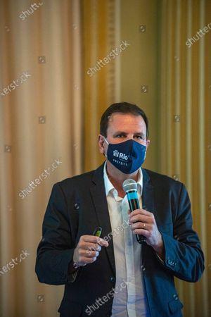 Editorial photo of Rio Mayor Eduardo Paes, Rio de Janeiro, Brazil - 24 Mar 2021