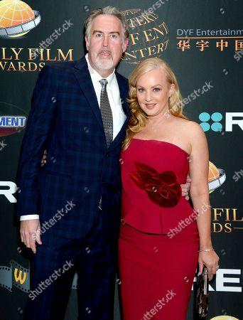 Wendi McLendon-Covey and husband Wendi McLendon-Covey
