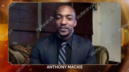 Anthony Mackie addresses the 32nd Annual PGA Awards presented by General Motors on