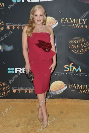 Stock Photo of Wendi McLendon-Covey arrives at the 24th Family Film Awards at Universal Hilton Hotel, in Los Angeles