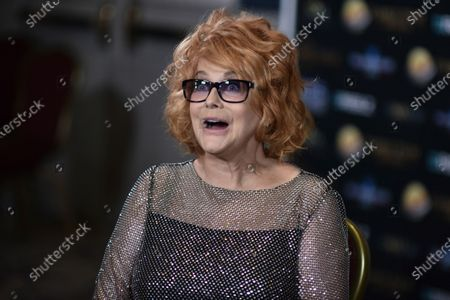 Ann-Margret stands backstage at the 24th Family Film Awards at Universal Hilton Hotel, in Los Angeles