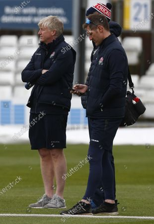 Editorial image of Essex CCC v Lancashire CCC - Friendly Day Two, Chelmsford, United Kingdom - 24 Mar 2021