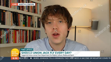 Editorial image of 'Good Morning Britain' TV Show, London, UK - 25 Mar 2021