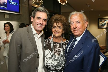 Geffen Playhouse Artistic Director Randall Arney, Faye and Frank Mancuso
