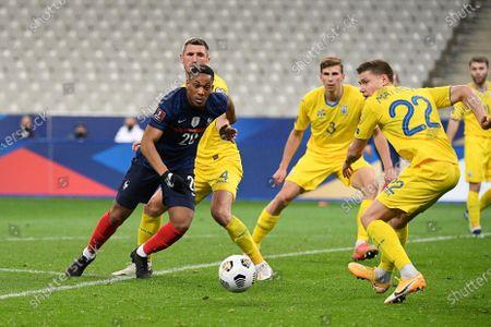 Editorial photo of France v Ukraine, 2022 World Cup qualification, Saint Denis, Stade de France, Paris, France - 24 Mar 2021