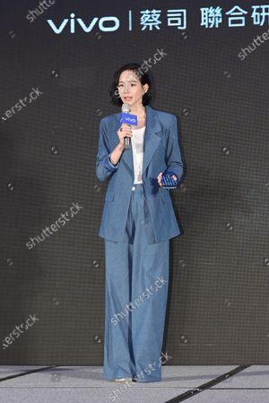 Editorial image of VIVO mobile phone launch, Taipei, Taiwan, China - 24 Mar 2021