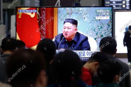 Editorial photo of North Korea Projectile, Seoul, South Korea - 25 Mar 2021