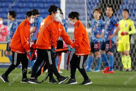 Editorial photo of Soccer South Korea, Yokohama, Japan - 25 Mar 2021