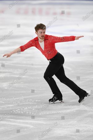 Editorial picture of ISU World Figure Skating Championships 2021, Stockholm, Sweden - 25 Mar 2021