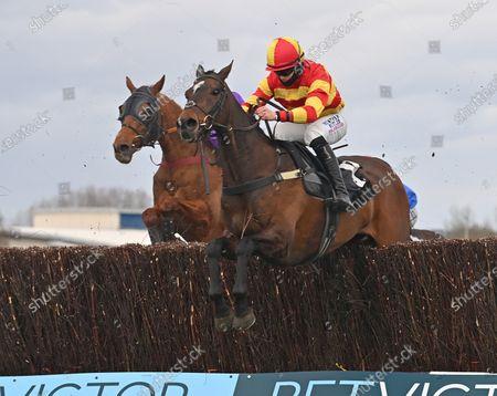 Editorial image of Horse Racing from Newbury Racecourse, UK - 27 Mar 2021