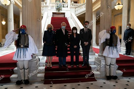 Editorial picture of Prince Charles and Camilla Duchess of Cornwall visit to Athens, Greece - 25 Mar 2021