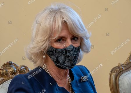 Editorial image of Prince Charles and Camilla Duchess of Cornwall visit to Athens, Greece - 25 Mar 2021