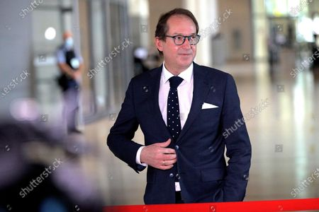 Alexander Dobrindt, President of the CSU's group in the Reichstag building