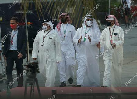 Prince Salman bin Hamad bin Isa Al Khalifa, Deputy King, Crown Prince of Bahrain (L) v action press