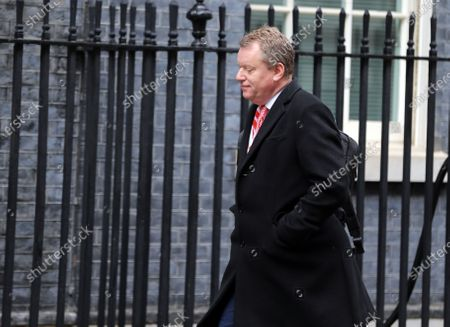 Stock Photo of Cabinet Minister David Frost arrives in Downing Street.
