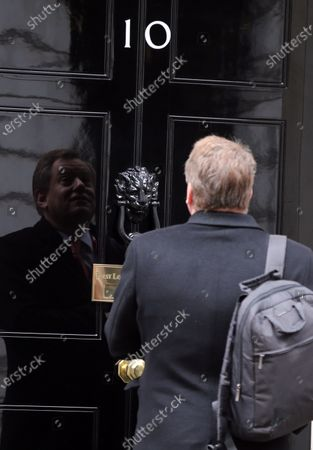 Cabinet Minister David Frost arrives in Downing Street.