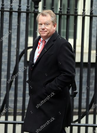 Editorial picture of David Frost in Downing Street, London, UK - 25 Mar 2021