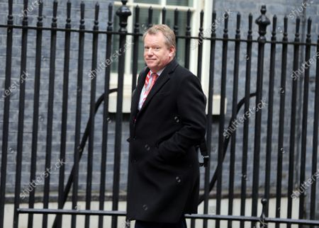 Stock Picture of Cabinet Minister David Frost arrives in Downing Street.