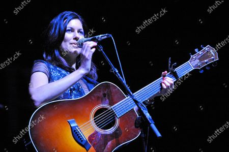 Stock Picture of Tristan Prettyman performs during Miracle on State Street presented by 101.9fm The Mix at the Chicago Theater